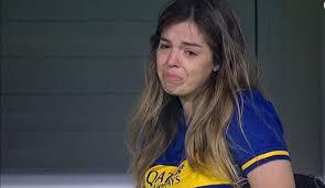 Dalma Maradona rompió en llanto con el primer gol de Cardona - Diario Hoy  En la noticia
