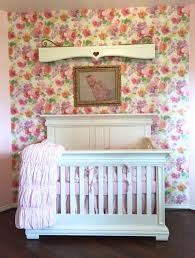 Honey\u0027s Chic Floral Nursery | Floral nursery, Project nursery and ...