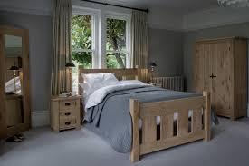 Oak Bedroom The Grangers Oak Bed Handcrafted By Indigo Furniture