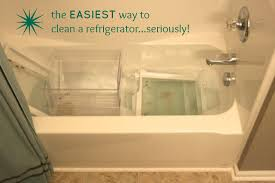 the easiest way to clean a refrigerator seriously great idea