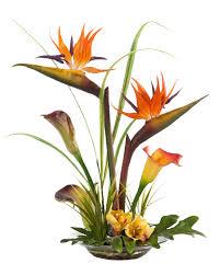 Silk Arrangements For Home Decor Silk Lily Flower Flowers Ideas