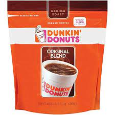 Dunkin donut coffee provides a distinctive mix of coffee with classic medium roasted beans. Amazon Com Dunkin Donuts Original Medium Roast Blend Coffee Grocery Gourmet Food