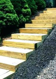 outdoor wood steps outside wood stairs awesome outdoor wooden stairs patio outside wood exterior design how