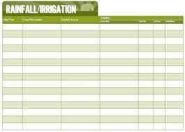 Rainfall Irrigation Chart Hobbyfarms Com Hobby Farms