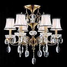 full size of living trendy chandelier without lights 8 0001284 24 ottone traditional candle round flush