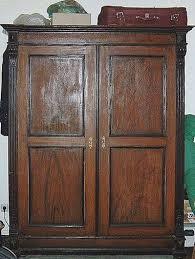 vintage antique furniture wardrobe walnut armoire. Vintage Antique Furniture Wardrobe Walnut Armoire 6