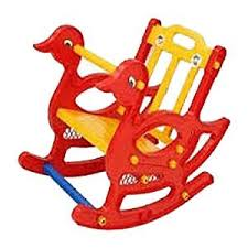 Buy <b>Supreme</b> Duck <b>Red and Yellow</b> Color Baby Rocking Chair ...