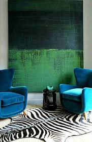Teal And Green Living Room Color Clash Emerald And Teal Emily Henderson