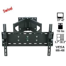 tv hangers. two arm rotation 23-42\ tv hangers