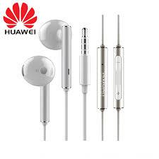 <b>Original Huawei Honor AM116</b> Earphone Metal With Mic Volume ...