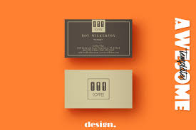 Namecard Format Free Coffee Business Card Template Creativetacos