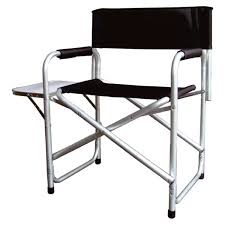 folding metal directors chairs. parkland black foldable directors chair with side table outdoor camping fishing: amazon.co.uk: garden \u0026 outdoors folding metal chairs i