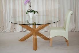 oak and glass table round glass oak dining table choice image dining table set designs round oak and glass