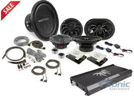 sound system kit. soundstream $1000 msrp complete audio upgrade with amp, sub \u0026 4 speakers! sound system kit n