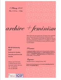 archive feminism archivefutures leave