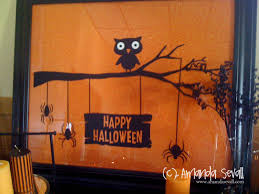 Home Decor: Framed Out on a Limb... Happy Halloween!!