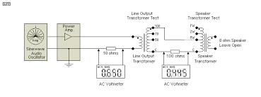 high voltage audio figure 9 transformer test circuit