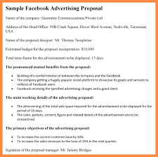 Sample Advertising Proposal Letter Professional Concept 5 Template