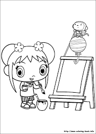Small Picture Ni Hao Kai Lan Coloring Pages The Toy Hub