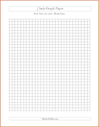 20 1 8 Inch Graph Paper Leave Latter