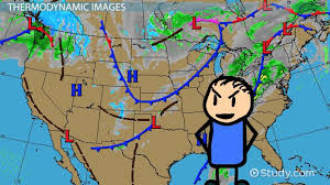 Types Of Weather Maps Images Video Lesson Transcript