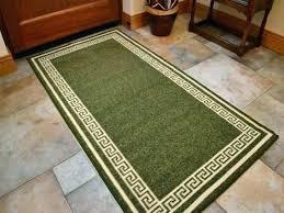 non slip kitchen rugs non skid kitchen rugs photo 3 of 4 light dark green washable