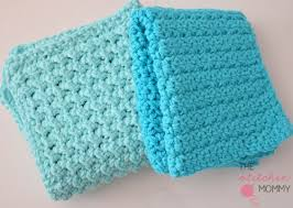 Easy Crochet Dishcloth Patterns Cool 48 Free Patterns For Crochet DishclothsWashcloths The Stitchin Mommy