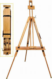 lightweight wooden tripod easel tripod stand durable painting display easel for drawing