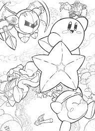 Small Picture Kirby Printables Coloring Coloring Pages