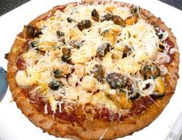 HEALTHY) Mixed Seafood Pizza Recipe ...