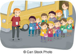 zoo field trip clipart. Contemporary Trip Illustration Of A Man Giving Instructions To Kids On Field Trip In Zoo Clipart
