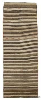 brown vintage turkish kilim runner 4 1 x 11 3 49 in x 135 in