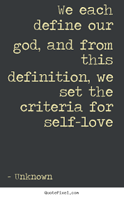 Definition Of Love Quotes Interesting Unknown Picture Quotes We Each Define Our God And From This