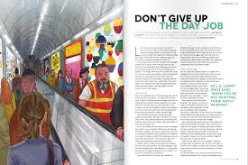 don t give up the day job artists and illustrators magazine estelle lovatt artists and illustrators 2