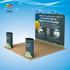 Company Backdrop Design Us 375 4 10ft Straight Tension Fabric Display Trade Show Exhibition Booth System Stand Design With Printing Cost Only Backwall In Flags Banners