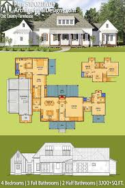 two story house plans with garage underneath lovely acrmichigan home plan and blueprint ideas