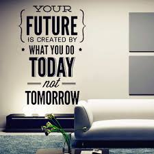 office wall decor.  Wall Inspirational Quotes Wall Stickers  In Office Decor D