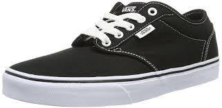 vans shoes black and white. vans atwood vulcanised skate, men\u0027s skateboarding shoes: amazon.co.uk: shoes \u0026 bags black and white