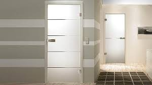 modern bedroom door designs with glass. Beautiful Modern View In Gallery Modern Interior  For Bedroom Door Designs With Glass