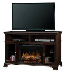 dimplex brookings tv stand with electric fireplace reviews wayfair with towel holder plush couch black electric