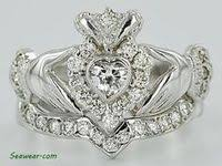 14 Amazing Rings images | <b>Claddagh</b> rings, <b>Claddagh</b> engagement ...