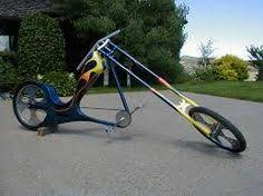 image result for motorized chopper bicycles pedal power with
