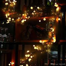 8 2ft 72led rattan globe string lights for wedding garden party home decor indoor waterproof warm white bulb string lights string lights from