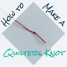 How to Make a Quilter's Knot: Step-by-Step Tutorial + Tips & How to Make a Quilters Knot Adamdwight.com