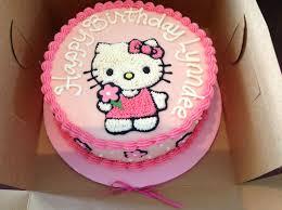 Birthday Cake Hello Kitty Picture Hello Kitty Buttercream Cake My