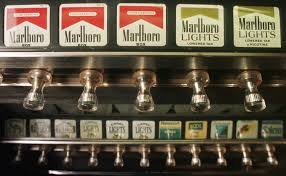 Vending Machine History Enchanting Smoking Report Changed US History The Columbian