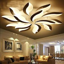 led lighting for living room ideas for ceiling lighting and indirect