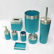 brown and green bathroom accessories. Teal Bathroom Accessories Sets Brown And Green