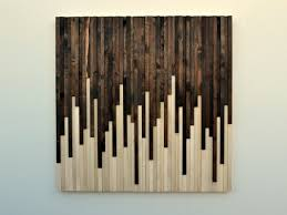 wall art ideas design rustic sculpture on wood modern contemporary instant brown white wooden canvas painting  on rectangular wooden wall art with wall art ideas design artistic scrap wall art on wood wooden