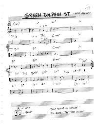 Green Dolphin Street Chart Green Dolphin Street Backing Track In C Key Latin Samba